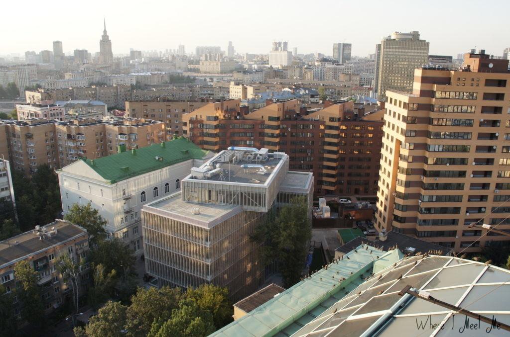 Блог Ксении Курилкиной whereimeetme.com | Москва на высоте - о прогулках по крышам столицы | Новая перспектива города