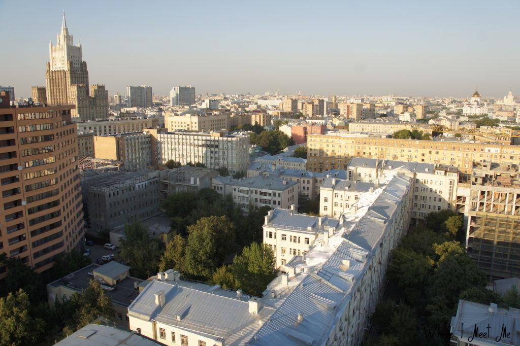 Блог Ксении Курилкиной whereimeetme.com | Москва на высоте - о прогулках по крышам столицы | Вид на МИД