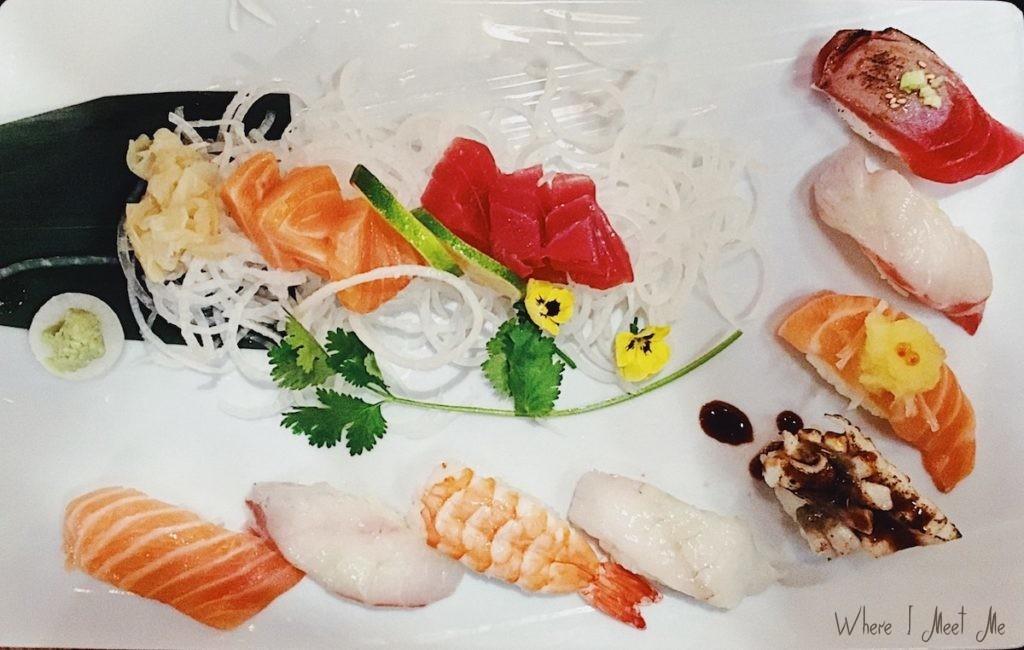 Блог Ксении Курилкиной whereimeetme.com | Как я узнала, что всю жизнь ела суши неправильно. Wasabi в Лионе. | Гармония суши от шефа Кима