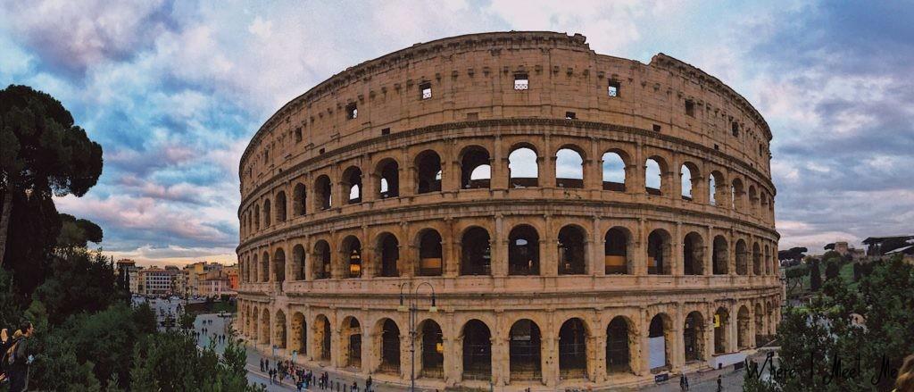 Блог Ксении Курилкиной whereimeetme.com | 5 секретных мест для лучших фото в Риме. | Колизей