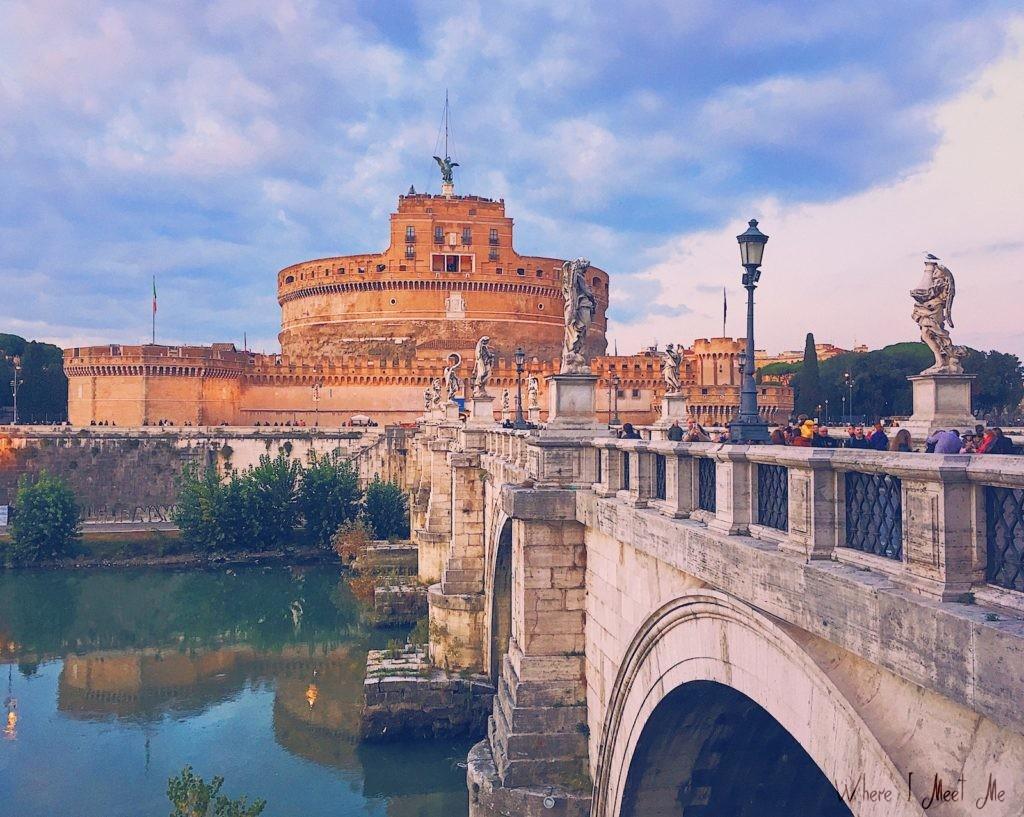 Блог Ксении Курилкиной whereimeetme.com | 5 секретных мест для лучших фото в Риме. | Castel Sant' Angelo